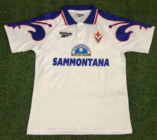 Fiorentina 1995-96 Away Retro Jersey