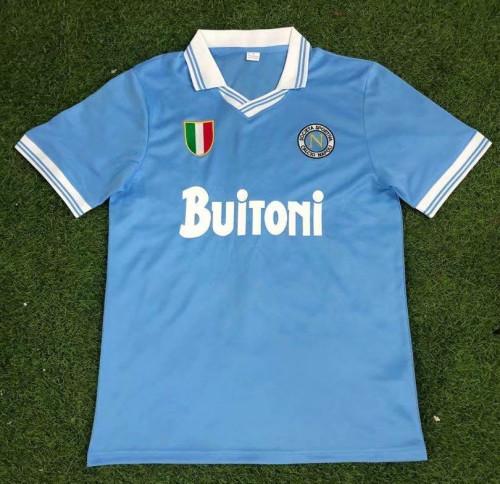 Napoli 1986-87 Home Retro Jersey