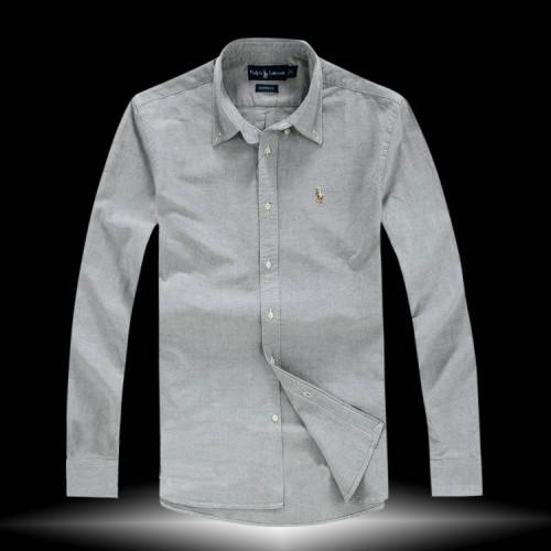 Men's Fashionable Brand LS Classic Shirts 7030-6
