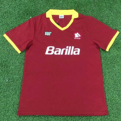Roma 1990-91 Home Retro Jersey