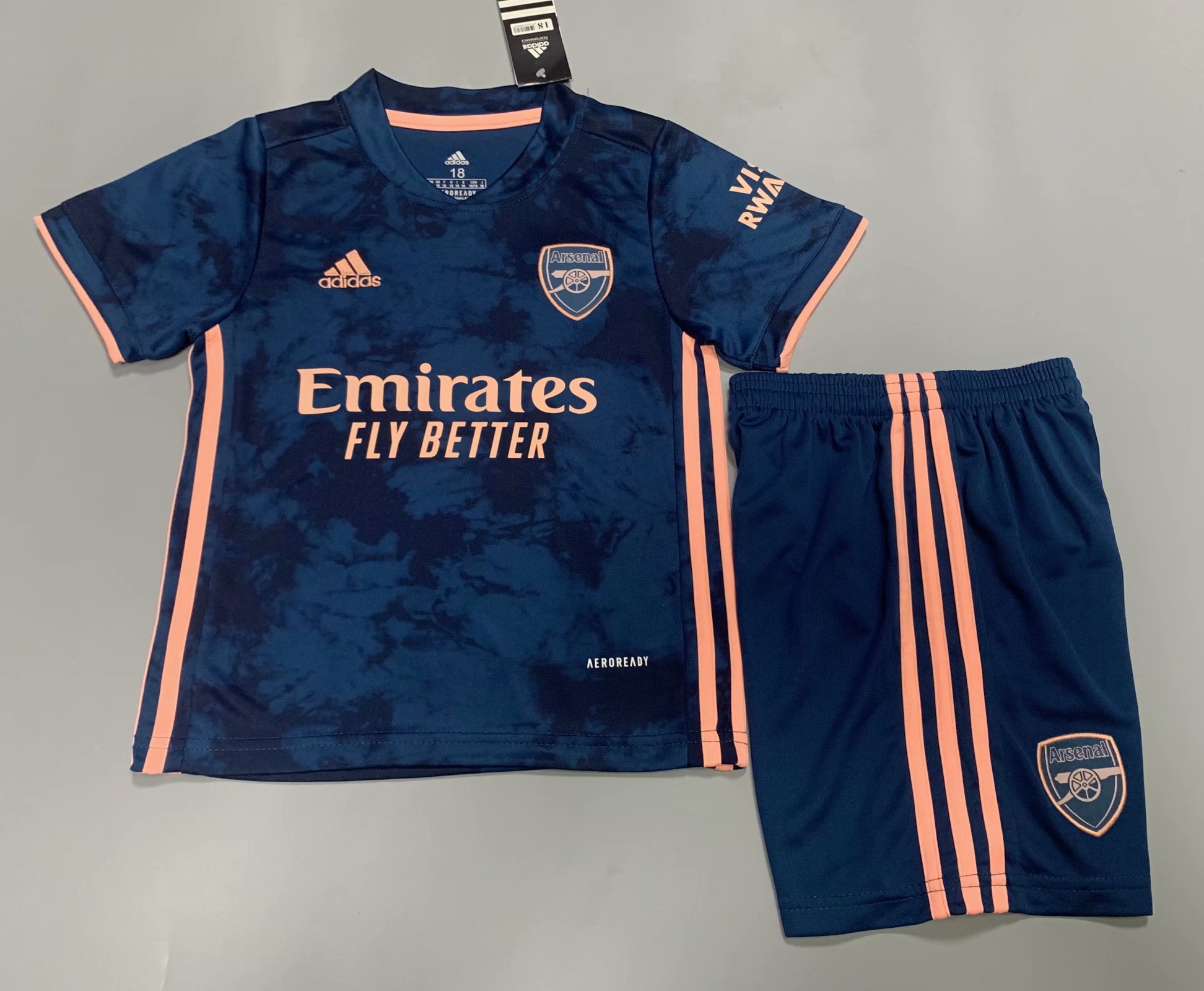 ARS 20/21 Kids Third Soccer Jersey and Short Kit
