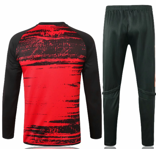 Manchester United 20/21 Soccer Training Top and Pants-B438