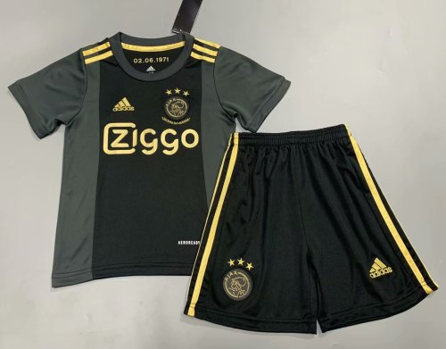 Ajax 20/21 Kids Third Soccer Jersey and Short Kit