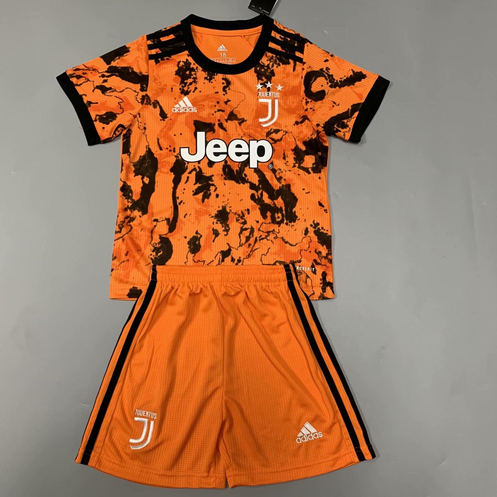 Juventus 20/21 Kids Third Soccer Jersey and Short Kit
