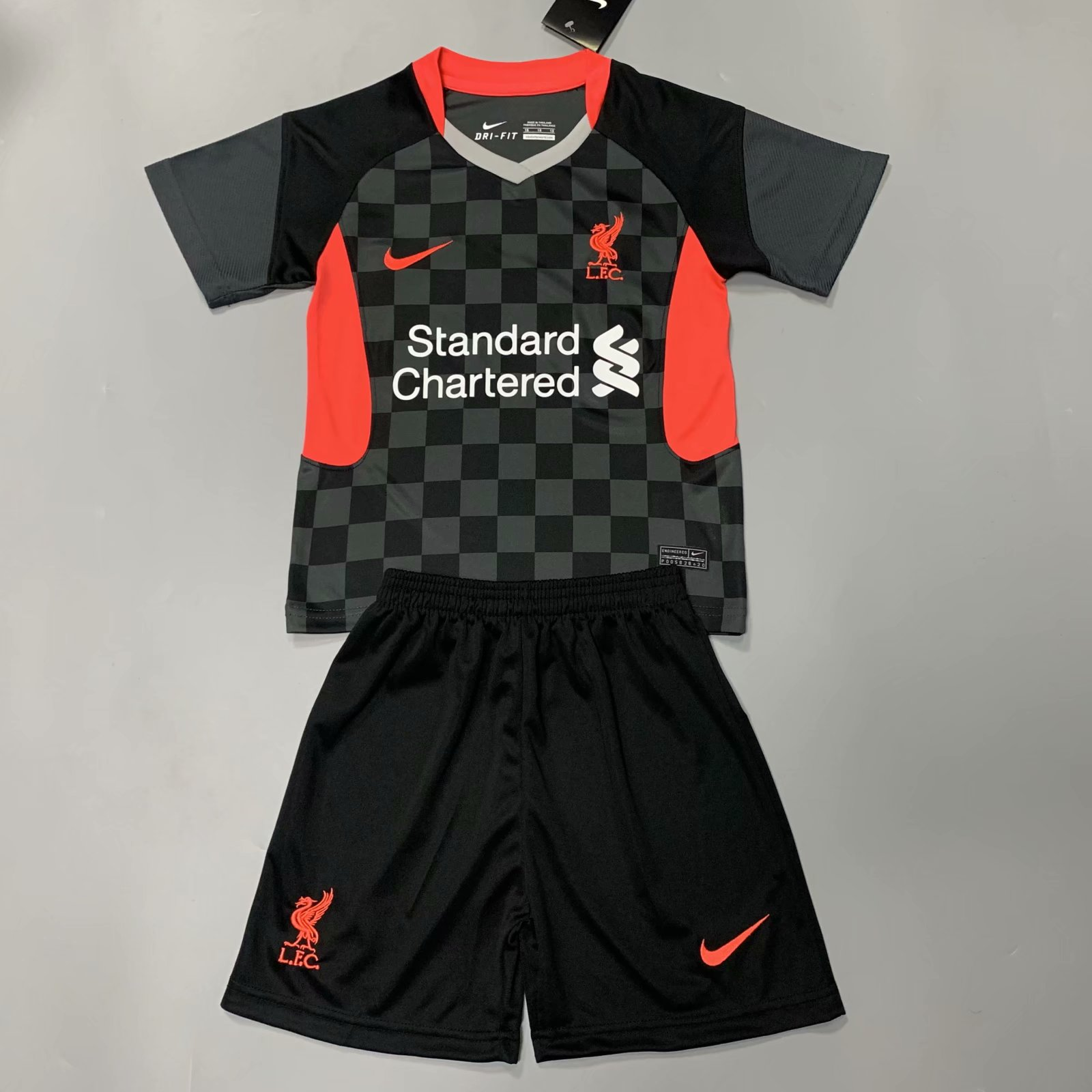 Liverpool 20/21 Kids Third Soccer Jersey and Short Kit
