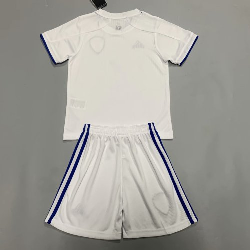 Copy Leeds United 20/21 Kids Home Jersey Kit