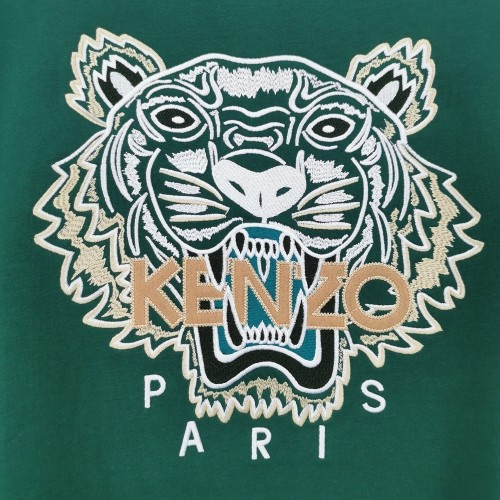 Fashionable Brand Hoodies Green WITH WOOL