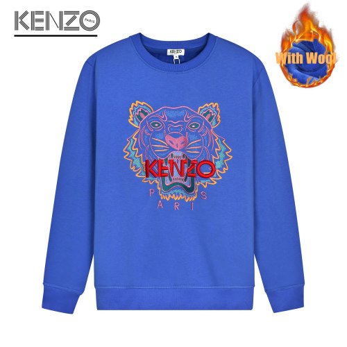 Fashionable Brand Sweater Blue WITH WOOL
