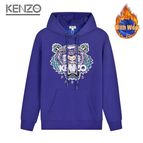 Fashionable Brand Hoodies Purple WITH WOOL