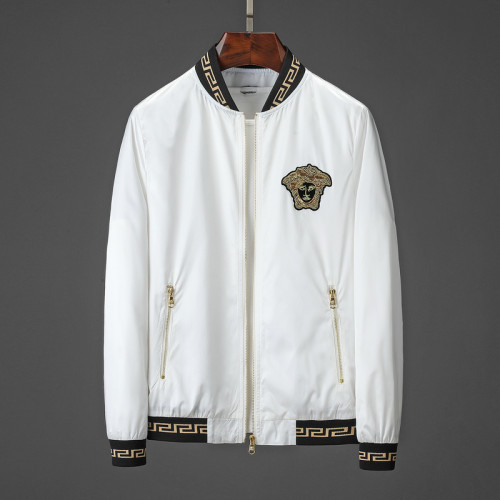 Luxury Fashion Brand Full Zip Windcheater 6001-2
