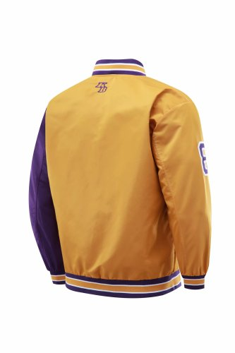 Los Angeles Full-Zip Jacket Purple and Golden