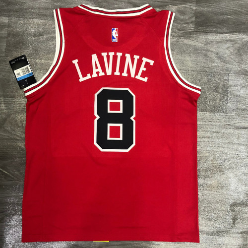 Thai Version Zach Lavine Men's Red Player Jersey - Classic Edition