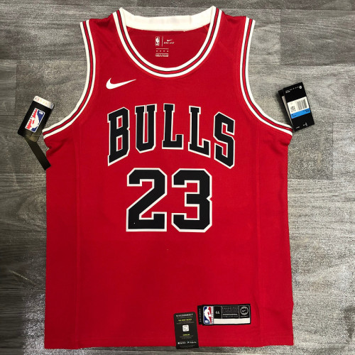 Thai Version Michael Jordan Men's Red Player Jersey - Classic Edition