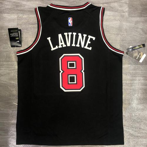 Thai Version Zach Lavine Men's Black Player Jersey - Classic Edition
