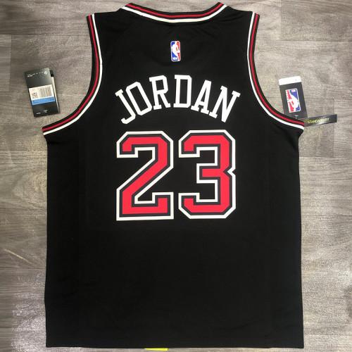 Thai Version Michael Jordan Men's Black Player Jersey - Classic Edition