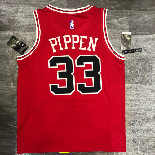Thai Version Scottie Pippen Men's Red Player Jersey - Classic Edition