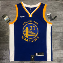 Thai Version Stephen Curry Men's Blue Player Jersey - Icon Edition