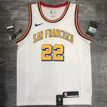 Thai Version Andrew Wiggins Men's White Player Jersey - San Francisco Classic Edition