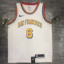 Thai Version Nick Young Men's White Player Jersey - San Francisco Classic Edition