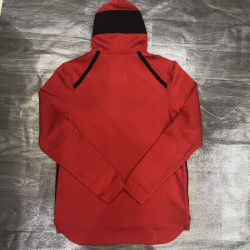 Showtime Performance Full-Zip Hoodie Jacket - Red