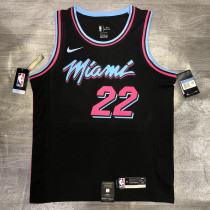 Thai Version Jimmy Butler Men's Black Player Jersey - Retro Classic Edition