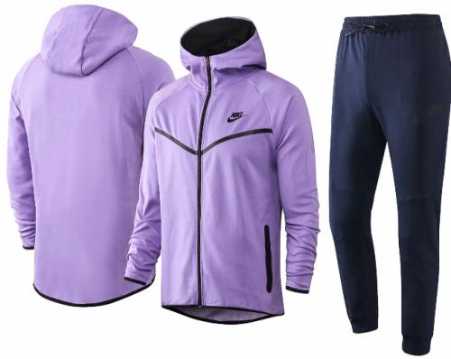 Purple Full-Zip 20/21 Hoodie and Pants -F268