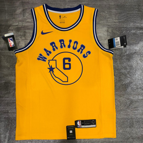 Thai Version Nick Young Men's Yellow Player Jersey - Classic Edition