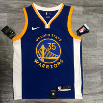 Thai Version Kevin Durant Men's Blue Player Jersey - Icon Edition