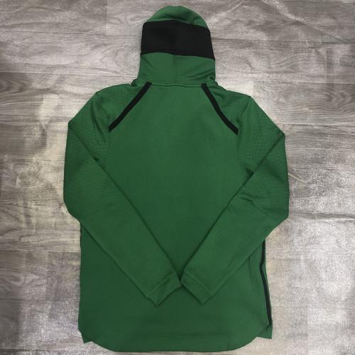 Showtime Performance Full-Zip Hoodie Jacket - Green