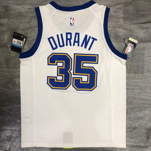 Thai Version Kevin Durant Men's White Player Jersey - Classic Edition