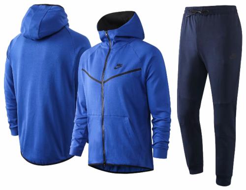 Blue Full-Zip 20/21 Hoodie and Pants - F264