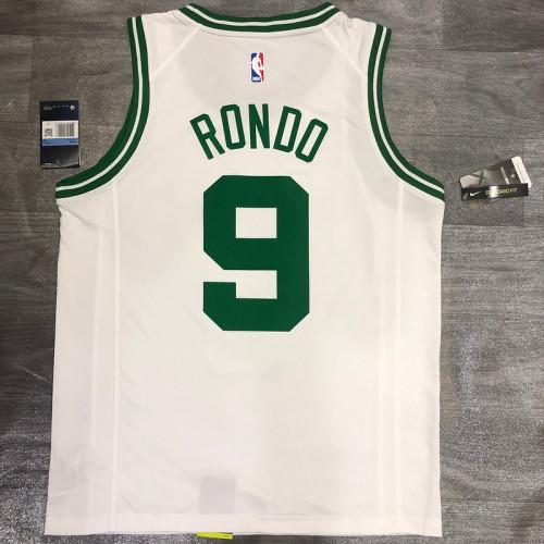 Thai Version Rajon Rondo White Men's Player Jersey-Association Edition