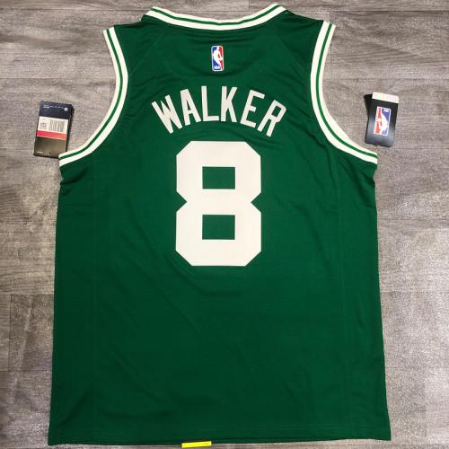 Thai Version Antoine Walker Men's Green Player Jersey- Icon Edition