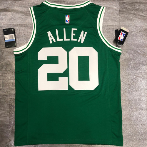 Thai Version Ray Allen Men's Green Player Jersey- Icon Edition