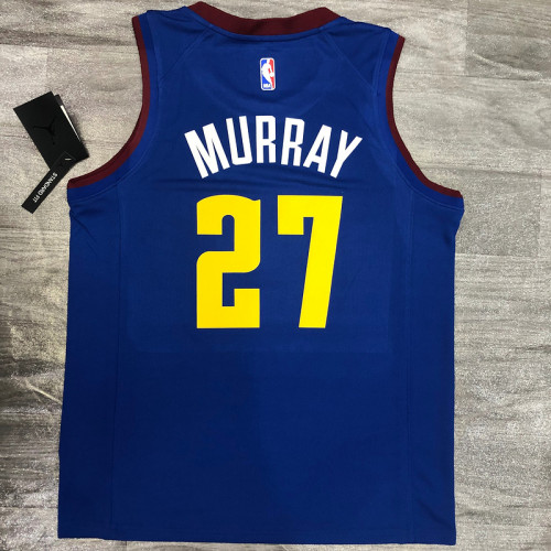 Thai Version Jamal Murray Men's Blue Player Jersey- City Edition