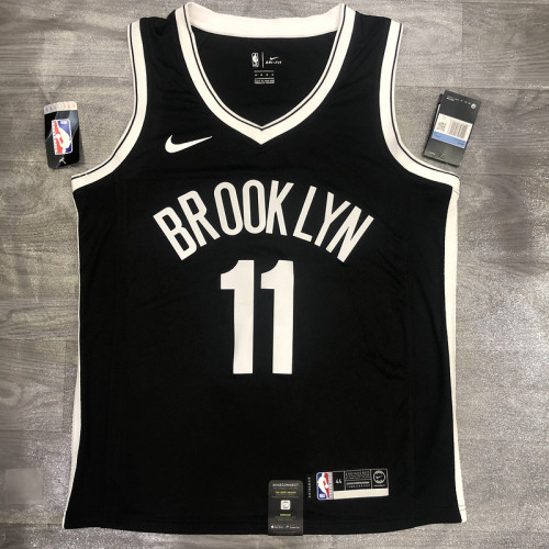 Thai Version Kyrie Irving Men's Black Player Jersey- Icon Edition