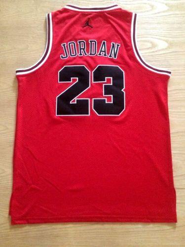 Men's Michael Jordan Red Retro Classic Team Jersey