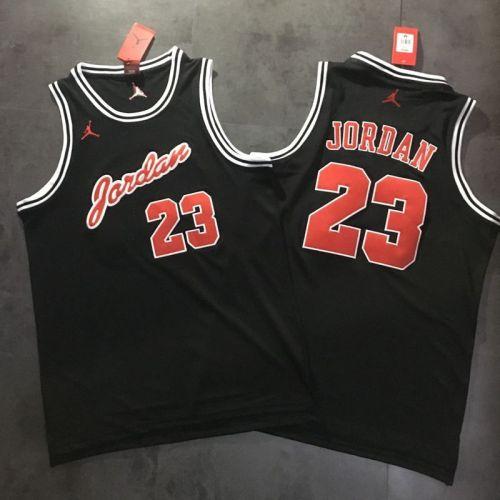 Men's Michael Jordan Black Retro Classic Team Jersey