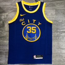 Thai Version Kevin Durant Men's Blue Player Jersey - Classic Edition