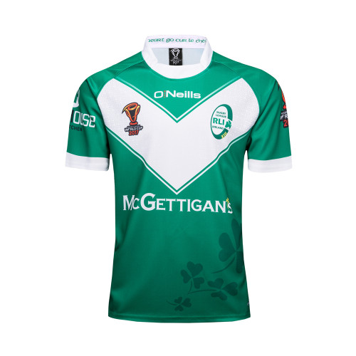 Ireland 2017 Men's Rugby World Cup Jersey