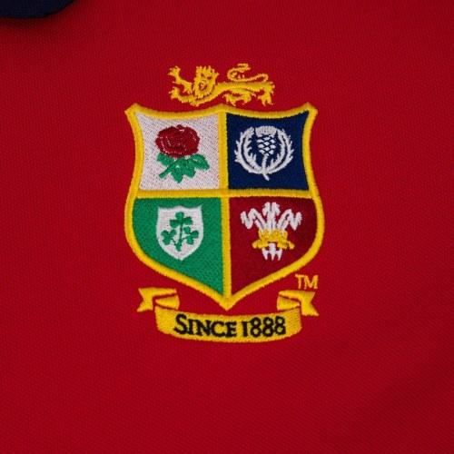 British & Irish Lions Mens Home Nations Polo Shirt - Red