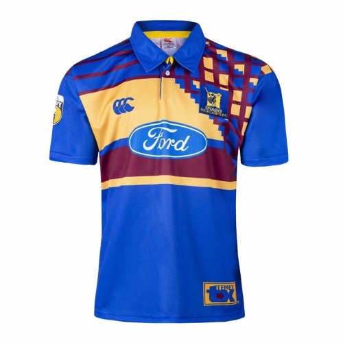 Otago Highlanders 1997-99 Men's Retro Rugby Jersey