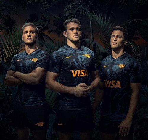 Jaguares 2020 Men's Home Rugby Jersey