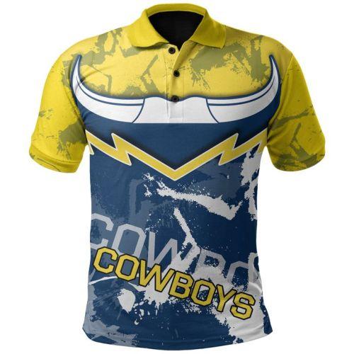 North Queensland Cowboys 2020 Mens Football Polo Shirt