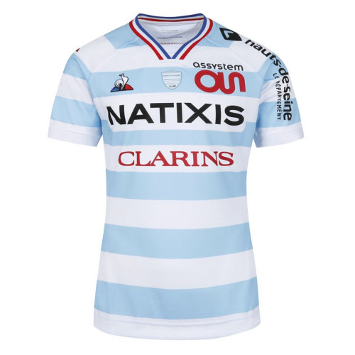Racing 92 Mens 2020-2021 Home Rugby Jersey