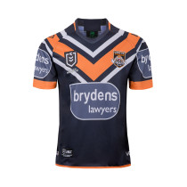 Wests Tigers 2019 Men's Home Rugby Jersey