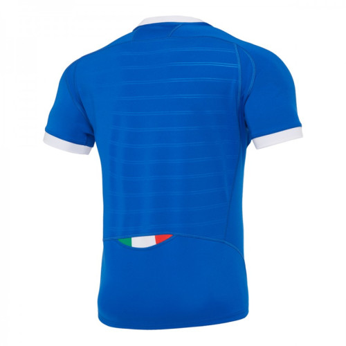 Italy 2021 Mens Poly Home Rugby Jersey