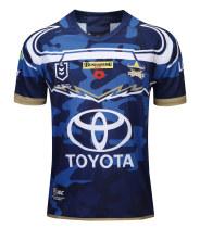 North Queensland Cowboys 2019 Men's Rugby Defence Jersey