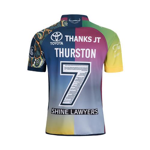 North Queensland Cowboys 2018 Johnathan Thurston Men's Testimonial Jersey