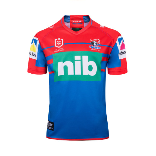 Newcastle Knights 2019 Men's Home Rugby Jersey